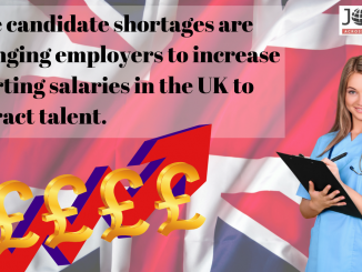 UK Experiencing Increased Starting Salaries in the Healthcare Sector 1